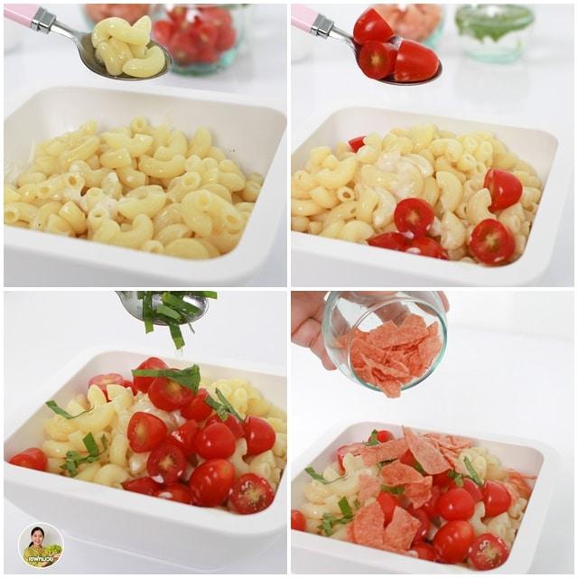วิธีทำ สลัดมักกะโรนี(macaroni salad)