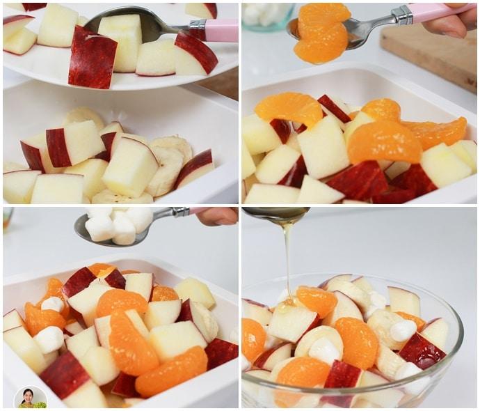 สลัดผลไม้ 3 สี